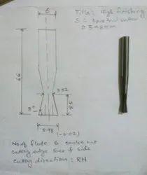 Carbide Dovetail Cutter