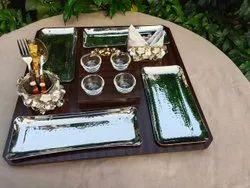 Revolving Serving Platter (Bride Platter)
