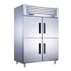 Blue Star Reach In Freezer (RF4D1450GP), (mm) 1400x880x2043, Refrigerant Used: R290