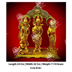 Ram Laxman Sita Hanuman God Statue