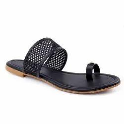 Flat Slippers Foam Zxyzo Ladies Sandals, For Casual Wear, Size: 37- 40