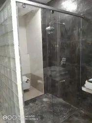 Frameless Sliding Shower Enclosures