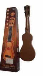 Brown Plastic Kids Musical Ukulele Toy, Upto 3 Year