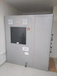 Audiometric booth room