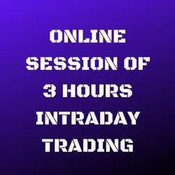 Online Session of 3 Hours Intraday Trading, Location: Ahmedabad