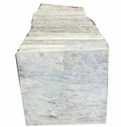 White Sand/Abrasive Finish Kitchen Partition Marble, Tiles, Thickness: 30mm