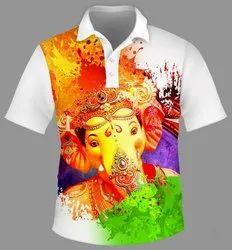 Sublimation T Shirt Printing Service, Designing
