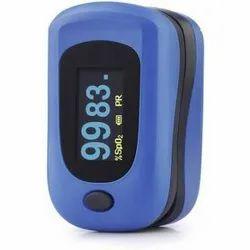 Dr Morepen PO 12A Pulse Oximeter (Blue)
