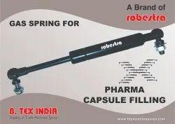 Gas Spring for Pharma Capsule Filling