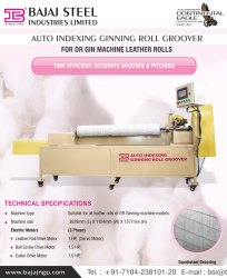 AUTO INDEXING GINNING ROLL GROOVER