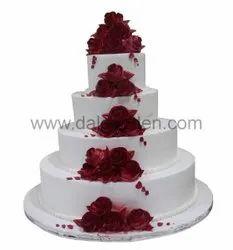 Four Tier Cake 100464, Round