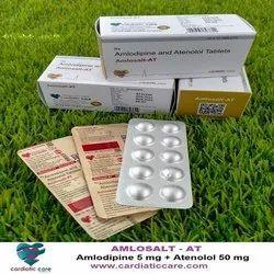 Amlodipine 5 mg + Atenolol 50 mg