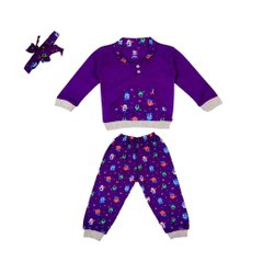 Full Sleeve T-shirt with Full Pant For Baby Unisex