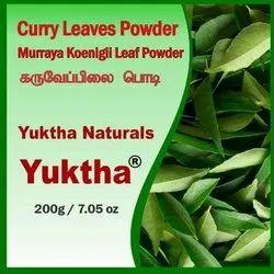 Yuktha Naturals Curry Leaves Powder - 200g