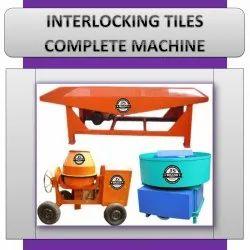 Interlocking Tiles Complete Machine
