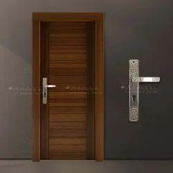 White Metal Door Pull Handle