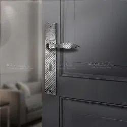 White Metal Door Handle Design