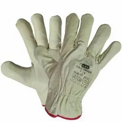Cold Driver Grain Leather Gloves