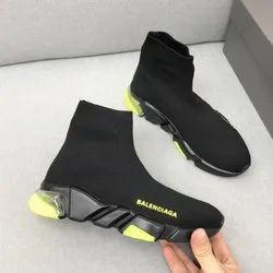 Men Mix Balenciaga Hi Neck Shoes, Size: 41 To 45