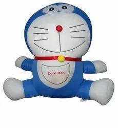 Nylex Blue And White Doraemon Stuffed Plush Soft Toy
