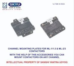 Chanel Mounting Add On Plate For L&T ML Type Contactor