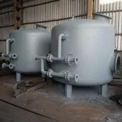 Stainless Steel Activated Carbon Filter, For Industrial