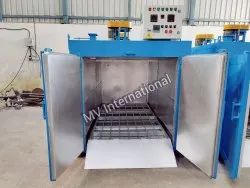 Drum Heating Oven Capacity 8 Drums Per Batch x 3 Ovens. Total 24 Drums in One Batch. Timing 10 Hours