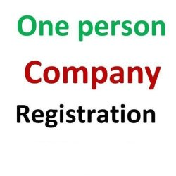 One Person Company Registration Service