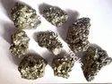 Golden Pyrite Cluster Stones
