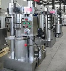 Hydraulic Cocoa Butter Extractor Machine