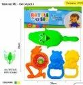 Indoor Games Plastic Rattle Set Toy, Child Age Group: 4 Years