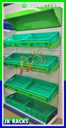 Ms Tray Veg Rack With Mirror Setup
