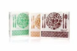 Breeze Printed Paper Napkin, Packet