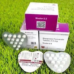 Bisoprolol Fumarate 2.5 mg