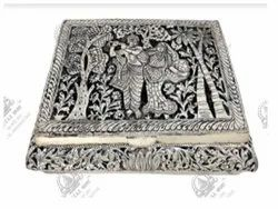 Rectangle Silver Plated Artifacts
