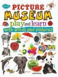 ENGLISH LEARNING BOOK Picture Museum Play and learn with words and Picture