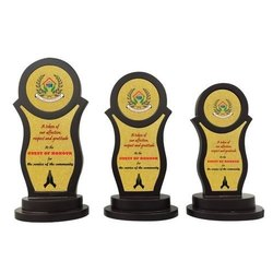 MDF Wooden Trophy