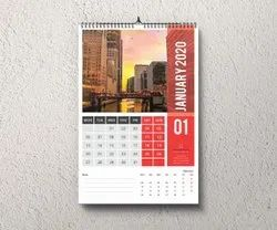 10days Paper Wall Calendar Printing Service, in Pan India