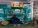 Double Die Buffet Plate Making Machine