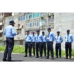 Corporate Male Commercial Security Guard Services