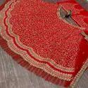 Sequence Embroidery Work Lehenga