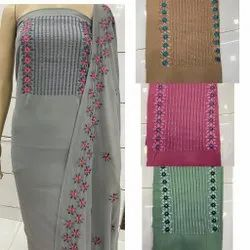 Vardan Ethnic Georgette Dress Material