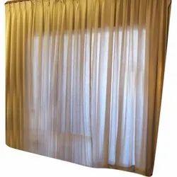 Plain Cotton Window Curtain, Size: 7x7feet
