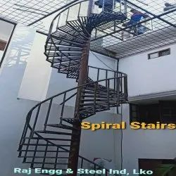 Mild Steel Spiral Stairs
