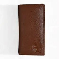 Customizable Bi Fold Long Leather Wallets