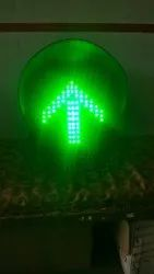 Solar Based Red Cross Green Arrow