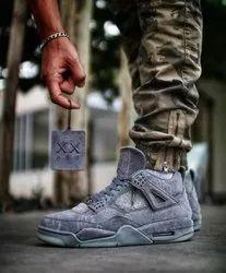Air Jordan Retro 4 Kaws ' Cool Grey' Men's Shoes