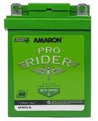 Amaron Pro Rider APBTX2.5L Bike Battery
