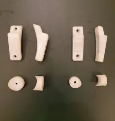 HD White Vistor Chair Fitting Parts