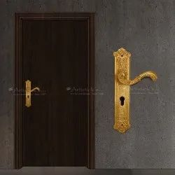With Gold Plating Pull Handles For Doors
